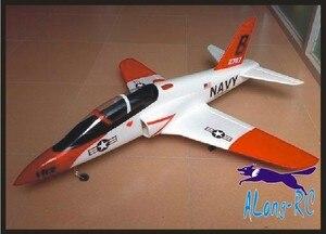 Image 4 - VENDITA CALDA 70 (64 millimetri) EDF 4 canali aereo T45 t 45 FRECCIA ROSSA EPO jet aereo RC aereo MODELLO di HOBBY, KIT SET O 3S 64 EDF PNP