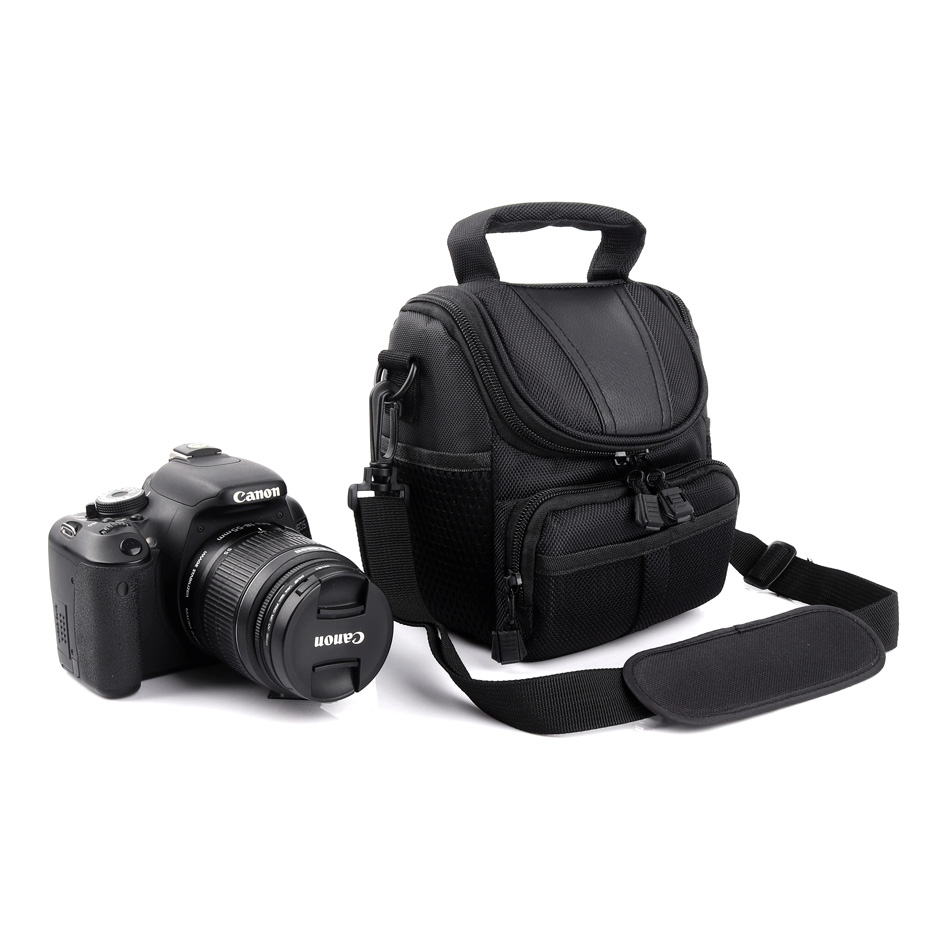 Camera Bag Shoulder Photo <font><b>Case</b></font> For <font><b>Nikon</b></font> D5500 D5300 D5200 D5100 D3400 D3300 D3200 <font><b>D3100</b></font> D3000 P900 B700 D7200 D7100 D7000 D5600 image