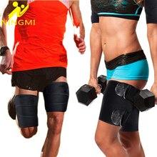 NINGMI 1 Pair Slim Leg Shaper Women Mens Neoprene Fat Burning Shapewear Belt Thigh Slimmer Wraps Body Shaper Thigh Trimmer Brace