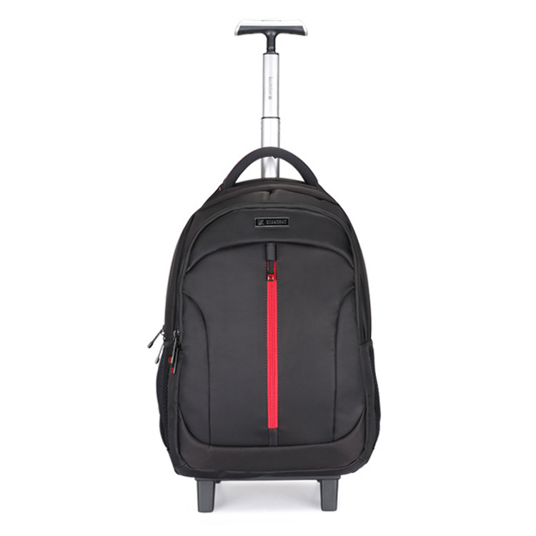 Backpack Boarding Computer-Schoolbag Suitcase-Extension Luggage Fashion Wheel Travel