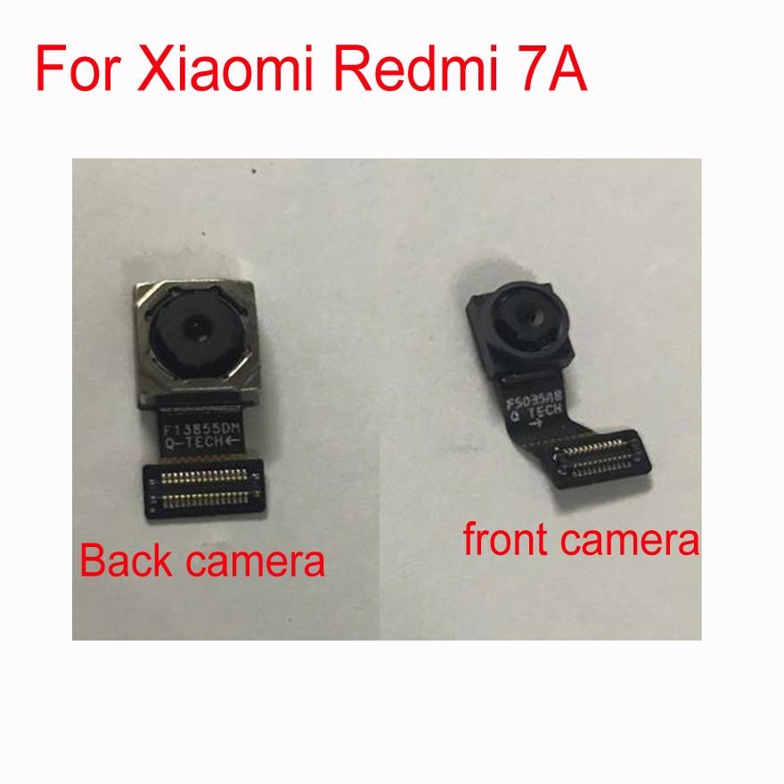 Original LTPro Tested For Xiaomi Redmi 7A Rear Back Big Camera Module Flex Cable Front Small Camera Module Cable