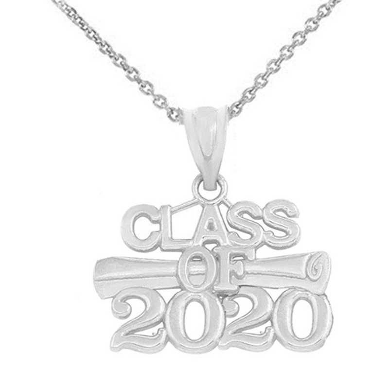 New Fashion Hollow Out Metal CLASS OF 2020 Pendant Necklace School Classmates Graduation Gift Souvenir Jewelry Necklace