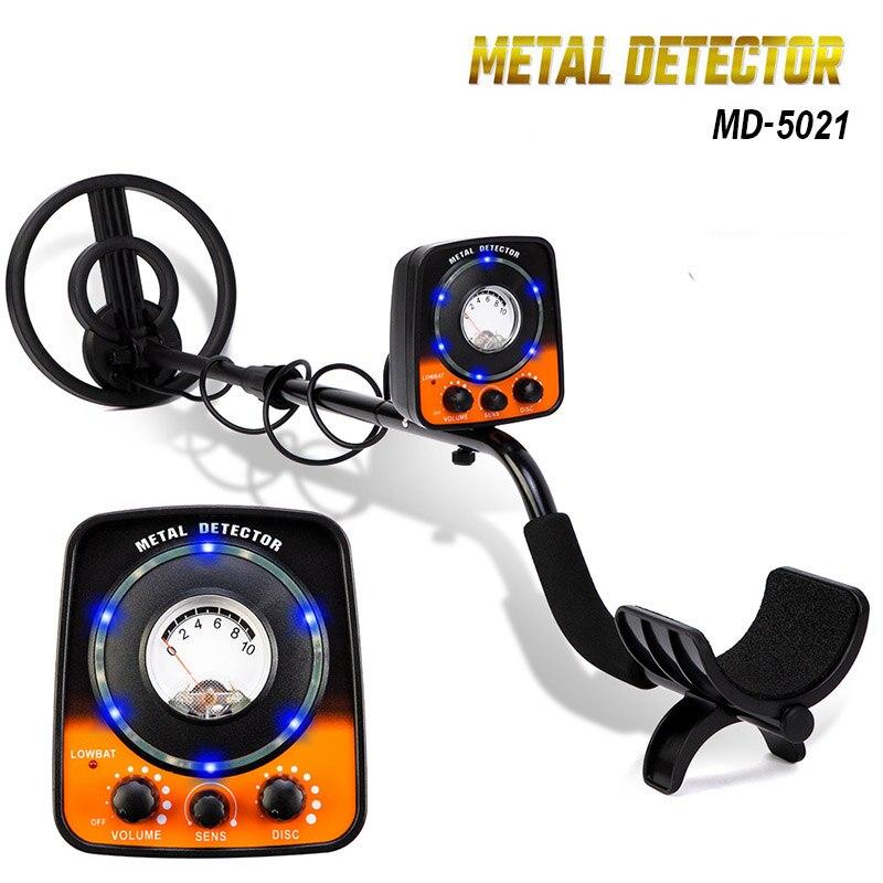 Détecteurs de métaux de sensibilité MD5021 avec détecteur d'or de lampe de poche LED