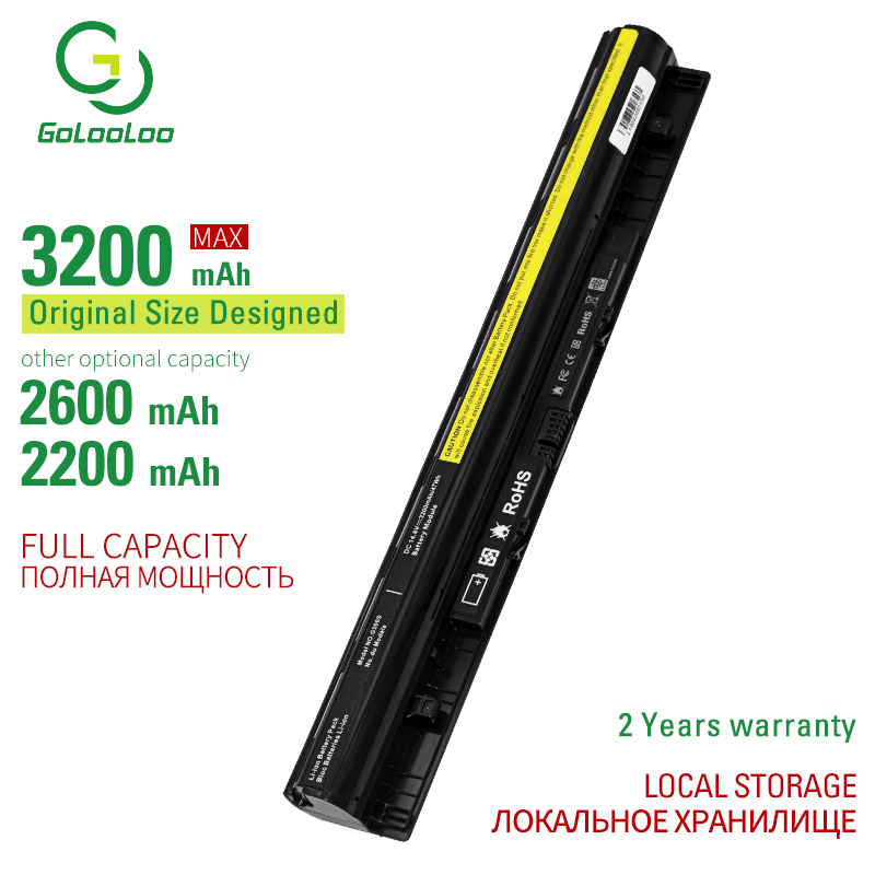 14.8v 3200mAh 4cells L12S4E01 Battery For Lenovo Z40 Z50 G40-45 G50-30 G50-70 G50-75 G50-80 G400S G500S L12M4E01 L12M4A02