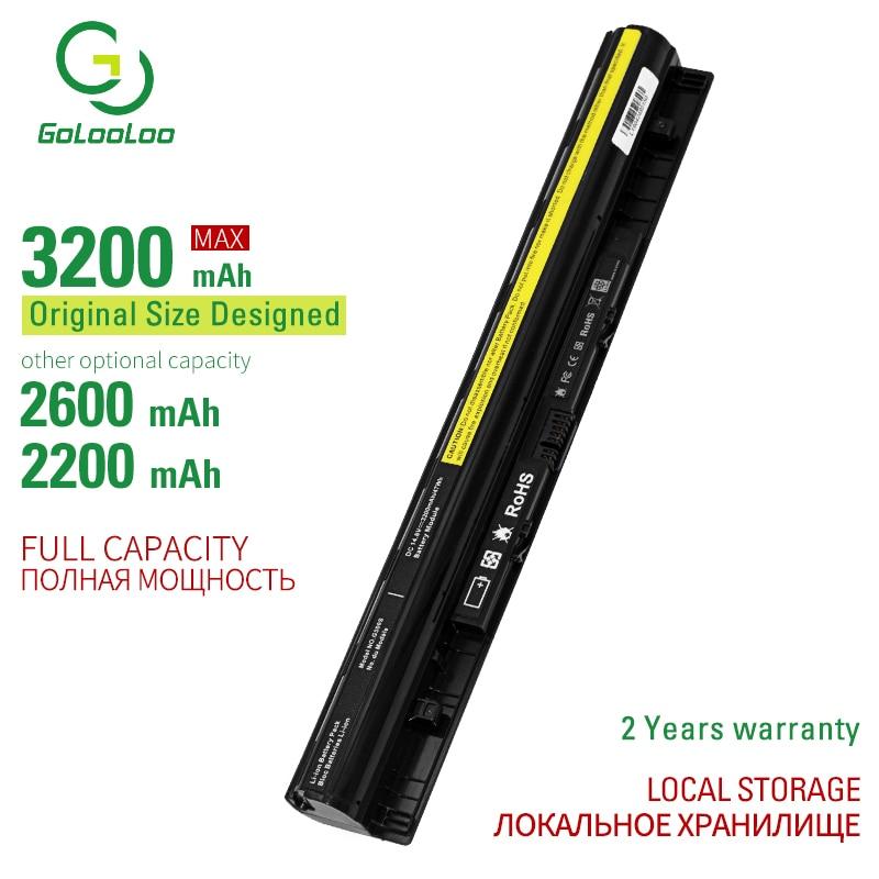 14.8v 3200mAh 4cells L12S4E01 Battery For Lenovo Z40 Z50 G40-45 G50-30 G50-70 G50-75 G50-80 G400S G500S L12M4E01 L12M4A02