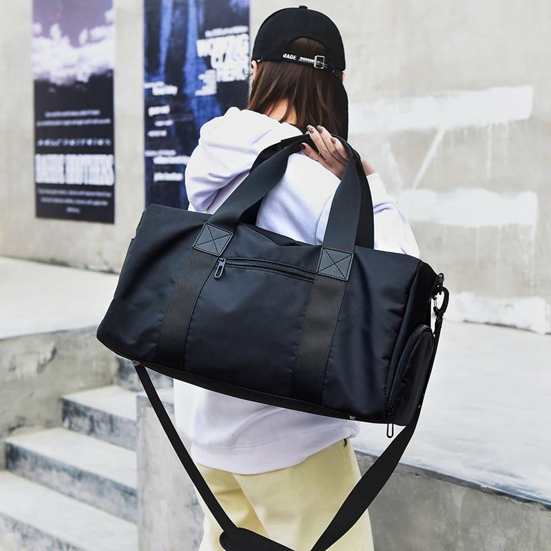 Fashion Large Capacity Messenger Bag Men's Fashion Trend Street Travel Bag Tide Brand Fitness Shoulder Bag Couple Travel Bag