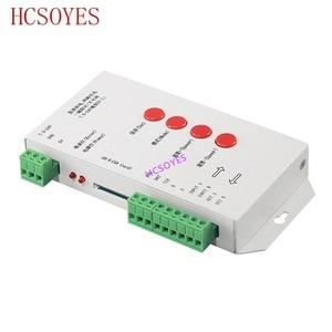 Image 4 - K 1000C (T 1000S更新) コントローラK1000C WS2812B、WS2811 、APA102 、t1000S WS2813 led 2048 ピクセルプログラムコントローラDC5 24V