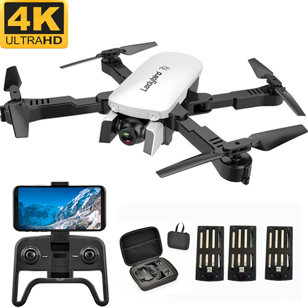 Wifi FPV RC Drone With 1080P 4K HD Camera Quadcopter Optical Flow Positioning Gesture Photo Dron Vs Sg106 Visuo Xs816