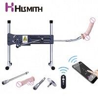 HISMITH Kliclok Sex Machine with App Remote Control Super Quiet Love machine Turbo Gear Power 120W 90 Degree Adjustable Machine