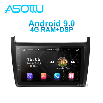 Asottu VW604 android 9.0 PX6 car dvd for VW polo sedan 2008-2015  Car Radio Multimedia GPS navigation