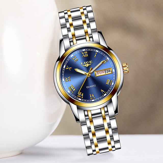שעון קלאסי לנשים חסין מים 8