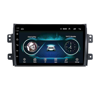 9 inch 2 din Android 8.1 Car Multimedia player Navigation GPS for Suzuki SX4 2006-2013 For Fiat Sedici 2005 - 2014 hactivol 9 car radio for suzuki sx4 2006 2012 fiat sedici 2006 2010 android 7 0 1 car dvd player with bluetooth 1g ram 16g rom