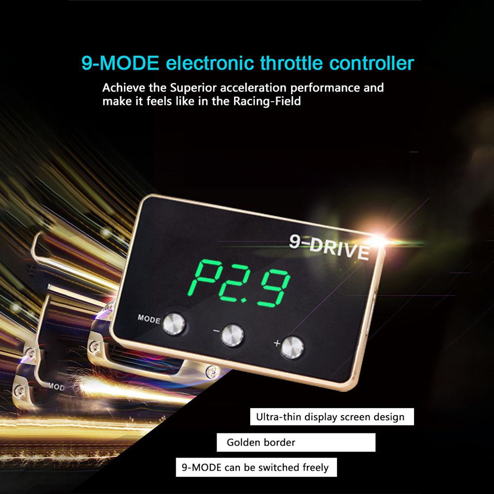 Car Electronic Throttle Controller For Modify Center Auto Gas Pedal Booster For BMW