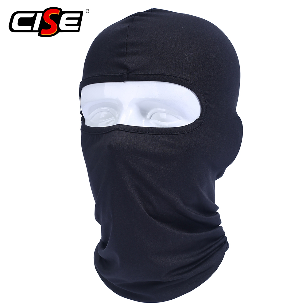 Lycra Motorcycle Balaclava Full Face Mask Windproof Paintball Military Helmet Liner Hood Ski Motor Tactical Snowboard Sport