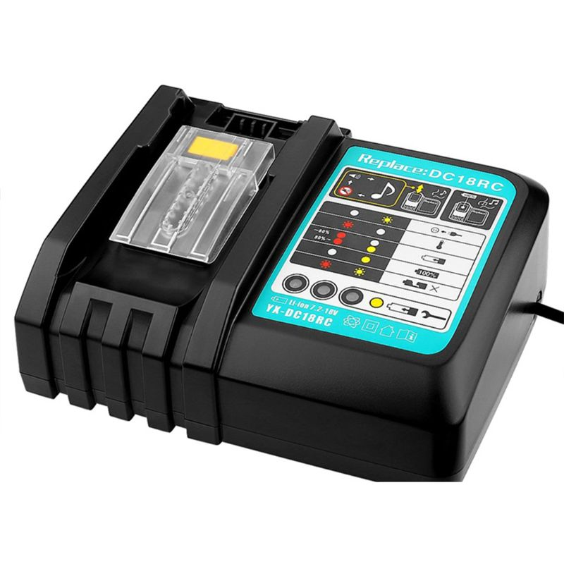 Makita DC18RCT Power Tools 14.4V 18V Li-Ion Batteries Replace 3A Fast Charger 831F