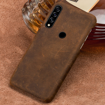 Genuine PULL-UP Leather Case for Honor 9X 8X 10i 10 20 Pro Retro Cover For Huawei mate 20 P20 P40 Pro P30 Lite Y6 P SMART 2019