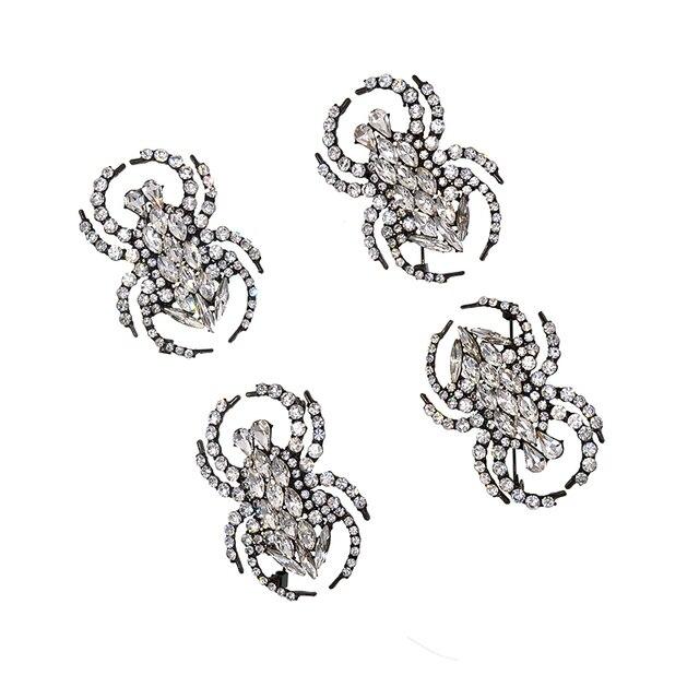 Купить изысканные модные ювелирные изделия стразы кристалл паук животные картинки