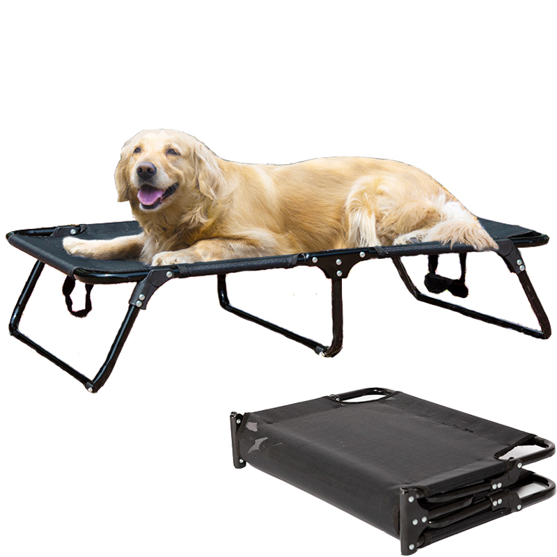 Foldable Dog Bed in Summer Puppy Small Medium Dog Beds for Large Dogs Mats Frame Pet House for Cat Outdoor At Home Cama Perro