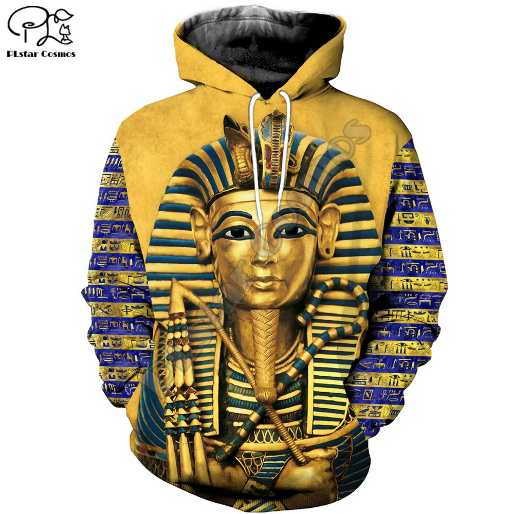 Egypt Lion Men Novelty Sweatshirt Pullover Hoodies