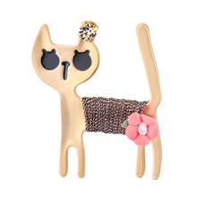 1Pc Brooch Cute Alloy Breastpin Creative Brooches for Lady