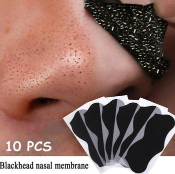 10/20 PCS Nose Pore Cleansing Strips Mask Mineral Mud Acne Blackhead Black Dots Remover Acne Treatment Black Head Remover Tool