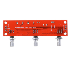 Image 5 - 2 stück NE5532 Preamp vorverstärker Ton Bord Kit Höhen Bass Volumen Control Modul