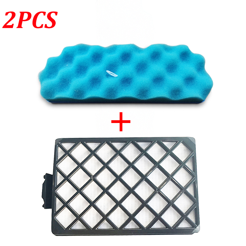 2PCS Replacement Dust HEPA Filter kit for <font><b>Samsung</b></font> DJ97-01670B SC8810 <font><b>SC8830</b></font> SC8850 SC8870 Series Robot Vacuum Cleaner Parts image