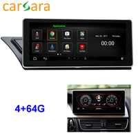 Au di A4 A5 S4 S5 Android 2009 2016 Head Unit DVD Player Car Radio System Touch Screen Android 4G RAM 64G ROM Navigation Monitor