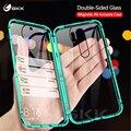 GKK Magnetic Adsorption Glass Case For Xiaomi Redmi Note 6 7 8 Pro 8A Case Double Side Cover For Xiaomi Mi A3 9 se cc9 poco F1