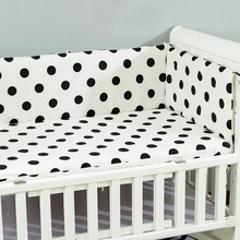 Bumper Safe Bed Bebe-Cot Fence-Line Detachable Crib Zipper U-Shaped Infant Baby 180x30cm