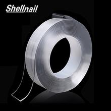 SHELLNAIL Double-Side Nano Silica Gel Magic Tape Traceless Washable Adhesive Car&Home Multifunction Fixed Anti-slip Mat