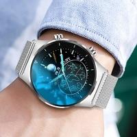Reloj inteligente para hombre, dispositivo resistente al agua IP68, con pantalla táctil completamente de 2021 pulgadas, Bluetooth 1,28, seguidor de actividad/deporte, para Android e IOS, 5,0
