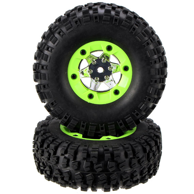 2Pcs Right Wheels Tires 0071 For Wltoys 12428/12423 1/12 Rc Car Spare Parts