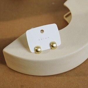 Brincos pequenos piercing studs para mulheres elegante mini ouro e prata cor da orelha anéis senhoras encantos orelha jóias