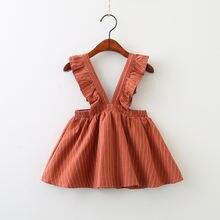 Оптовая продажа осенняя одежда на лямках для девочек новое милое
