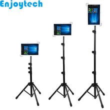 New Arrival Foldable Tripod with Holder for iPad Huawei Samsung Tablets Stands Mounts Live Streaming Bloggers