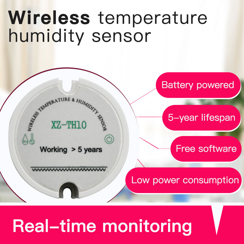 Image 2 - 433mhz rf wireless humidity sensor temperature humidity meter long range temperature humidity monitoring system-in Fixed Wireless Terminals from Cellphones & Telecommunications