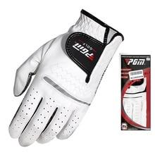 Golf-Gloves Breathable Left-Hand Men with Anti-Slip-Granules Pure-Sheepskin Soft Men's