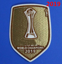 2019 2020 Club Cup Wereldkampioenen Patch Voetbal Patch Badge(China)
