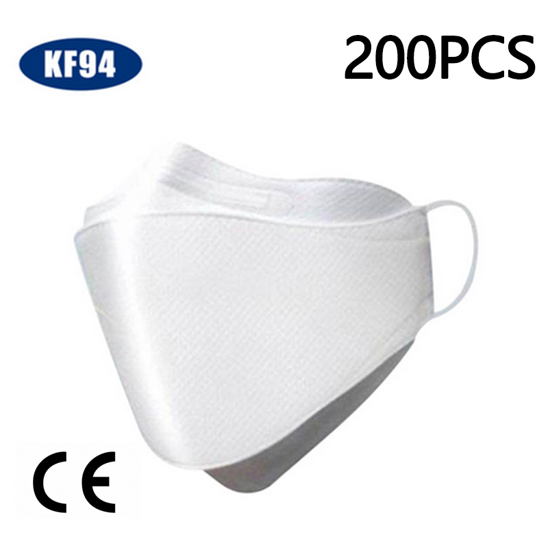 Spot KF94 N95 Dust Mask Fine Dust Mouth Antivirus And Flu Mask Pm2.5 Infectious Disease Protection 30PCS/Pack For Adult Mask