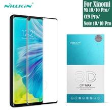 ل شاومي Xiaomi Mi نوت Note 10 Pro برو Mi 10 Pro برو CC9 Pro برو الزجاج المقسى حامي الشاشة الكاملة Nillkin ثلاثية الأبعاد CP ماكس فيلم الزجاج ل شاومي نوت Xiaomi Note10