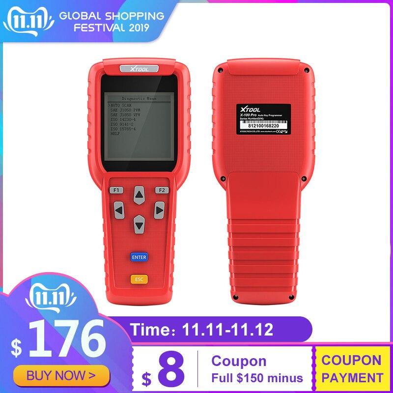 XTOOL X100 PRO Car Key Programmer OBD2 Auto Diagnostic Tool Scanner With Odometer Adjustment Code Reader Update Version Original