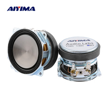 AIYIMA 2Pcs 2 Inch Audio Full Range Speaker Unit 52MM 8 Ohm 10W Uplifting Angle Waterproof Sound Speaker Driver DIY Home Theater