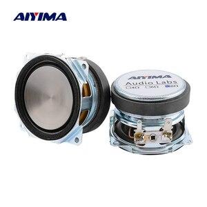 Image 1 - AIYIMA 2Pcs 2 Inch Audio Full Range Speaker Unit 52MM 8 Ohm 10W Uplifting Angle Waterproof Sound Speaker Driver DIY Home Theater