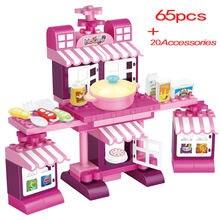 Строительные блоки кухонный стол модель кухни образовательная