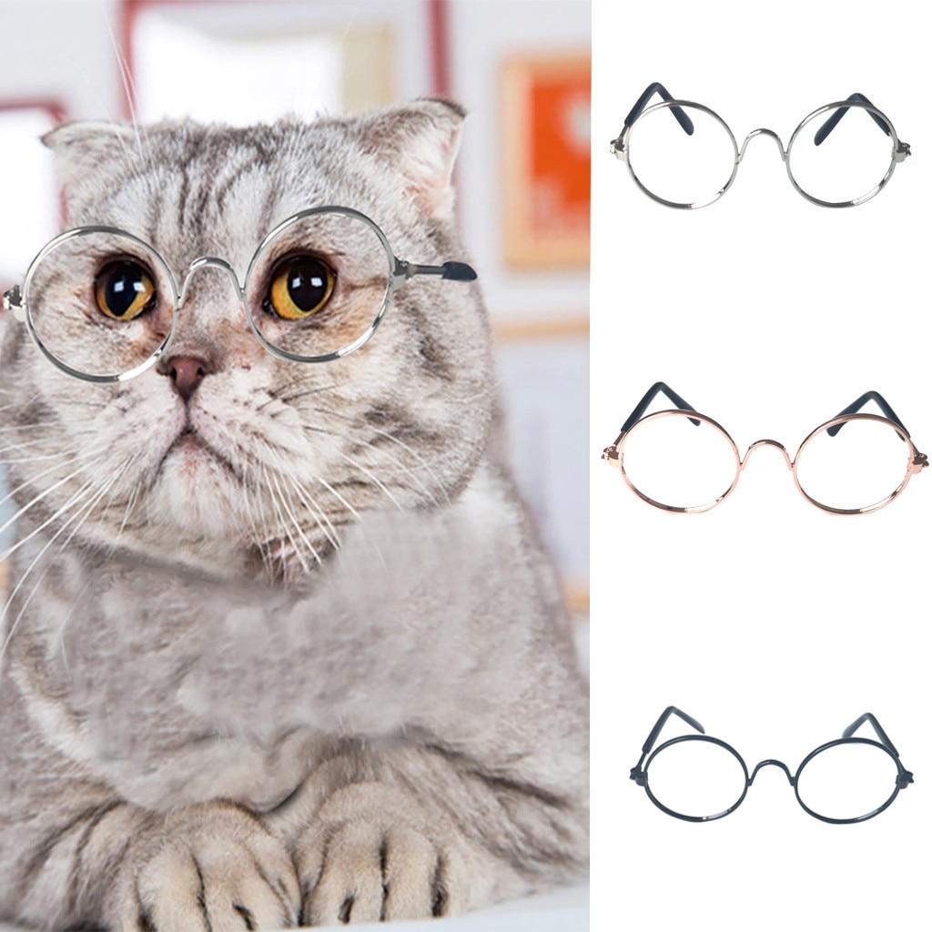 NEW 1PC Multicolor Fashion Pet Sunglasses Cat Eye-wear Protection Little Dog Cat Photos Props Cute Cool Glasses Photos Props