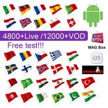 1 Year SUBTV Code IPTV France Arabic Italy Spain IP TV Subscription
