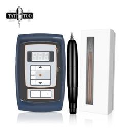 Rotary Permanent Makeup Tattoo Machine Kits Import Swiss Motor Lip Eyeliner Eyebrow Makeup Machine Kit with Power Supply