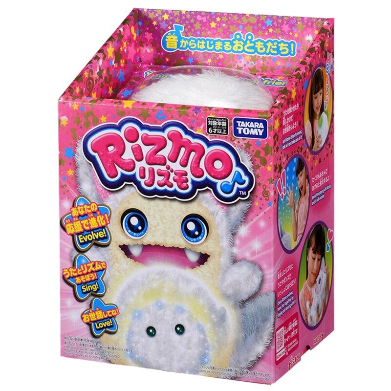 Takara tomy tomica rizmo knuffels hot pop baby speelgoed grappig magic kids pop fluwelen puppets shu katoen snuisterij - 3