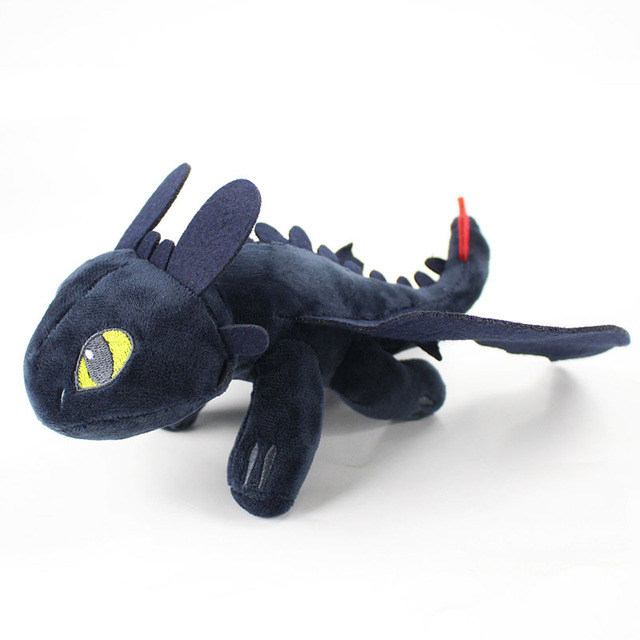 How To Train Your Dragon Plush Toys Night Fury Light Fury Dragon Plush Doll Toothless Dragon Action Figure Toys Birthday Gift